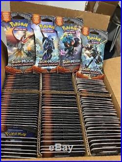 Pokemon SM3 BURNING SHADOWS Sealed 36 packs-10 cards=Entire Booster Box ENGLISH