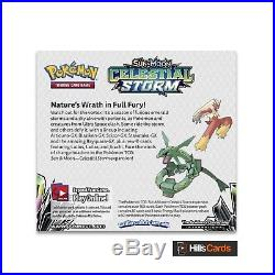 Pokemon Sun & Moon Celestial Storm Sealed Booster Box of 36 Packs SM-7 TCG Cards