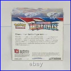 Pokemon Sword & Shield Battle Styles Sealed Booster Box 36 Packs TCG Cards