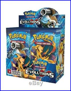 Pokemon XY EVOLUTIONS FACTORY SEALED booster box 36 packs of 10 cards