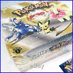 SEALED 1st Edition Neo Genesis Set Pokemon Booster Box pack cards English base