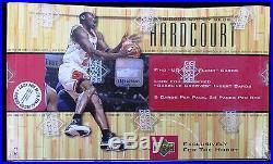 SEVEN (7) 1999/00 Upper Deck Hardcourt Basketball Factory Sealed Hobby Boxes