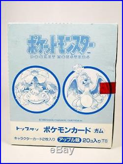 Sealed 1995 Pokemon Topsun Booster Box Rare First Ever Printed Pokemon Cards