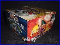 Sealed GREEN-WINGED Base Set Box 36x Booster Packs WOTC Pokemon Cards