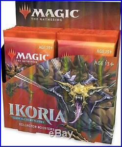 Sealed Ikoria Lair of Behemoths Collector Booster Box MTG Magic Cards