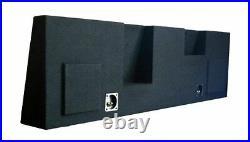 SoundBox F250 Super Duty Crew Cab 2004-2016 Dual 12 Subwoofer Enclosure Sub Box