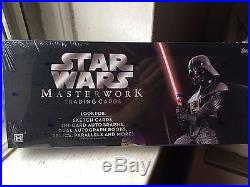 TOPPS STAR WARS MASTERWORK TRADING CARDS BRAND NEW SEALED BOX