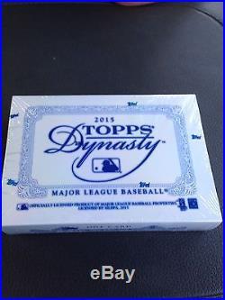 Topps Dynasty 2015 Factory Sealed Baseball Hobby Box