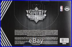 Upper Deck NBA Supreme Hard Court Basketball Factory Sealed 2 Card Box