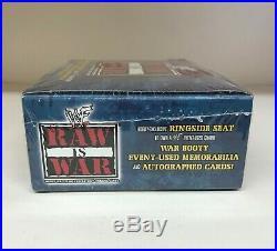 WWE / WWF Raw is War Sealed Trading Card Hobby Box Fleer 2001